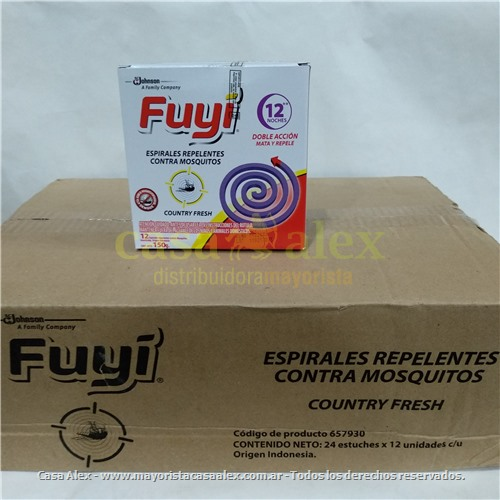 ESPIRAL FUYI COLECTIVA 48X4