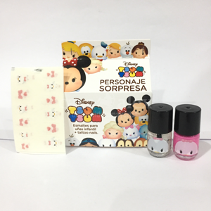 ESMALTE UÑAS INFANTIL + TATOO NAILS  ART 41236